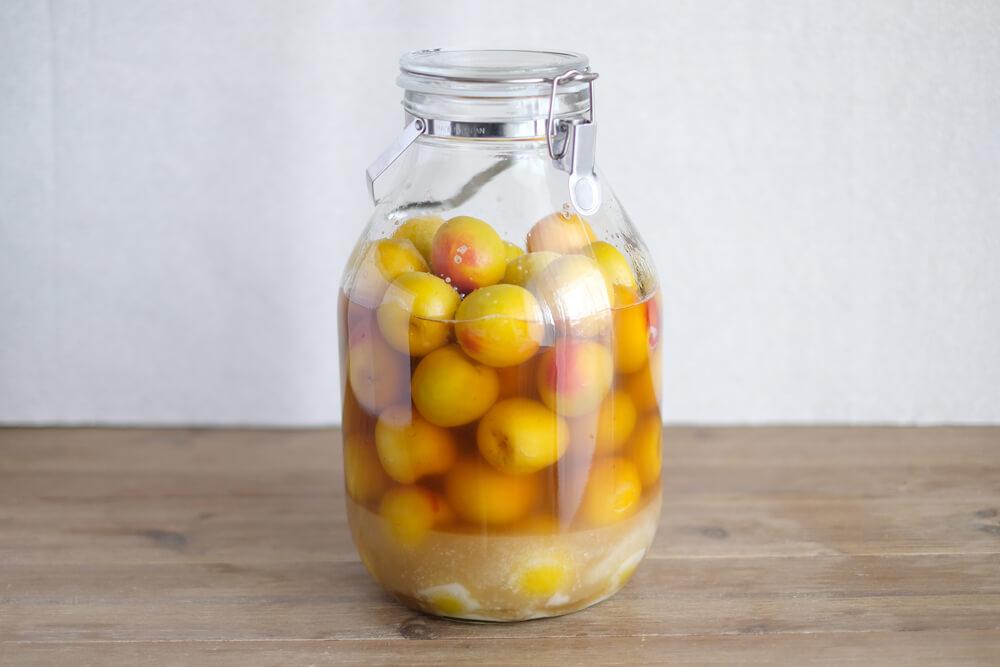 梅酢も絶品!ほんのり甘い、さしす梅漬け